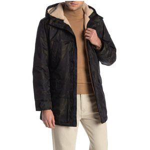 Michael Kors Otto FauxShearling LinedHooded Jacket
